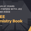 Previous years IIT JEE Chemistry book