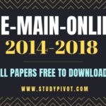 JEE Main 2014 – 2018 Online Papers with Answers