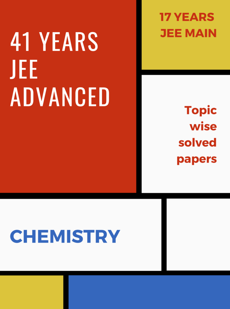 41 years iit-jee papers chemistry